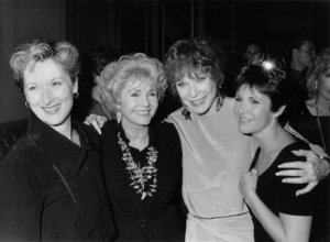 """Postcards From the Edge""Meryl Streep, Debbie Reynolds, Shirley MacLaine, Carrie Fisher1990** I.V. - Image 8030_0001"