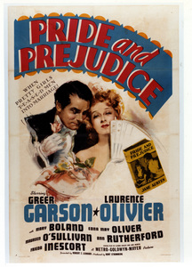 """Pride and Prejudice""Poster1940 MGM**I.V. - Image 8037_0006"