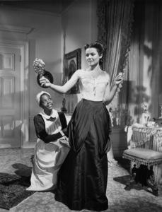 """The Return of Frank James""Lillian Yarbo, Gene Tierney1940 20th Century Fox - Image 8080_0001"