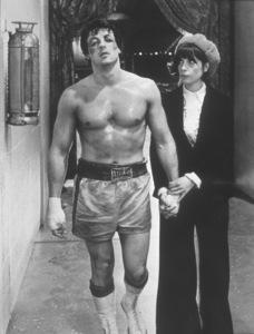 """""""Rocky""""Sylvester Stallone, Talia Shire1976 United Artists - Image 8096_0001"""