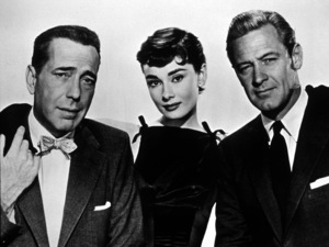 """Sabrina,"" Humphrey Bogart,Audrey Hepburn, William Holden © 1954 Paramount / MPTV - Image 8124_0005"
