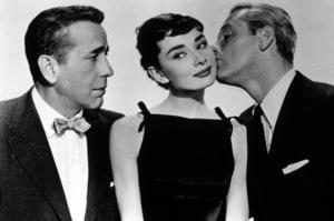 """Sabrina,"" Humphrey BogartAudrey Hepburn, William Holden1954 Paramount / MPTV - Image 8124_0013"
