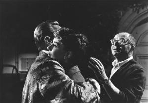 """""""Sabrina""""William Holden, Audrey Hepburn, director Billy Wilder1953© 2000 Mark Shaw   - Image 8124_0026"""