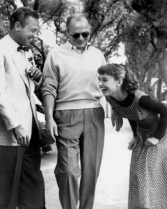 """Sabrina""William Holden, Audrey Hepburn, director Billy Wilder 1954 Paramount ** I.V. - Image 8124_0048"