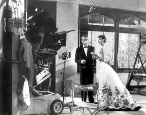 """Sabrina""Audrey Hepburn, Humphrey Bogart, 1954, Paramount, **I.V. - Image 8124_0050"