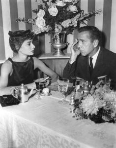 """Sabrina""Audrey Hepburn, Humphrey Bogart, 1954, Paramount, **I.V. - Image 8124_0051"