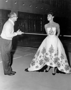 """Sabrina""Audrey Hepburn, Billy Wilder, 1954, Paramount, **I.V. - Image 8124_0055"