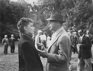 """Sabrina""Audrey Hepburn, director Billy Wilder1954 Paramount ** I.V. - Image 8124_0056"