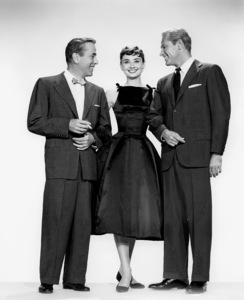 """Sabrina""Humphrey Bogart, Audrey Hepburn, William Holden 1954 Paramount ** I.V. - Image 8124_0062"