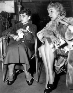 """Sabrina""Audrey Hepburn, Marlene Dietrich1954, Paramount, **I.V. - Image 8124_0065"