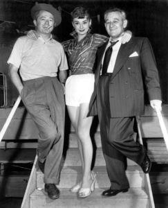 """Sabrina""Director Billy Wilder, Audrey Hepburn, William Wyler1954 Paramount** I.V. - Image 8124_0066"