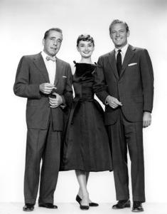 """""""Sabrina""""Audrey Hepburn, Humphrey Bogart, William Holden Paramount Pictures, 1954**I.V. - Image 8124_0071"""