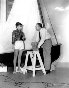 """""""Sabrina""""Audrey Hepburn, Bud FrakerParamount Pictures, 1954**I.V. - Image 8124_0072"""
