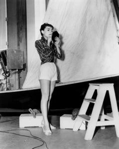 """""""Sabrina""""Audrey HepburnParamount Pictures, 1954**I.V. - Image 8124_0073"""
