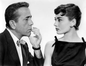"""Sabrina""Humphrey Bogart & Audrey HepburnParamount Pictures, 1954**I.V. - Image 8124_0075"