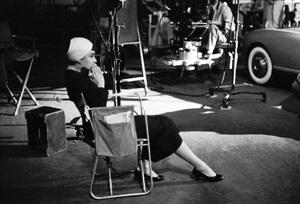 "Audrey Hepburn during the making of ""Sabrina""1953© 2000 Mark Shaw - Image 8124_0099"