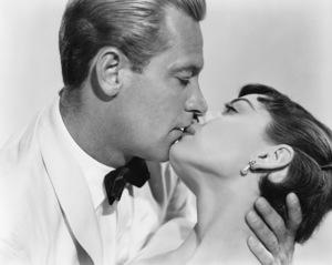 """Audrey Hepburn and William Holden from """"Sabrina"""" 1954 ** I.V. - Image 8124_0126"""