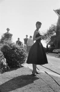 "Audrey Hepburn during the making of ""Sabrina""1953© 2017 Mark Shaw - Image 8124_0131"
