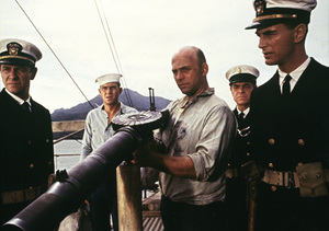 """The Sand Pebbles""Richard Crenna, Steve McQueen, Gavin MacLeod1966 20th Century Fox © 1978 Ted Allan - Image 8127_0007"