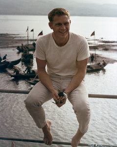 """""""The Sand Pebbles""""Steve McQueen1966 20th Century Fox © 1978 Ted Allan - Image 8127_0014"""