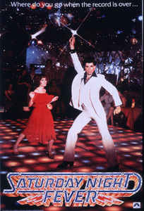 """Saturday Night Fever""Poster © 1977 Paramount - Image 8131_0010"