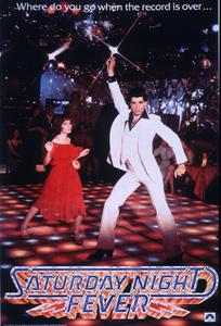 """Saturday Night Fever""Poster © 1977 Paramount - Image 8131_0010"