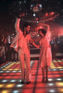 """Saturday Night Fever""John Travolta, Karen Lynn Gorney1977 Paramount Pictures** I.V. - Image 8131_0015"