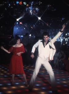 """Saturday Night Fever""Karen Lynn Gorney, John Travolta1977 Paramount Pictures** I.V. - Image 8131_0016"