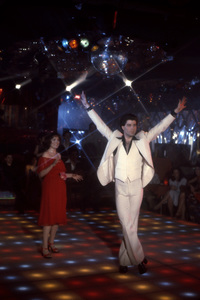 """Saturday Night Fever""Karen Lynn Gorney, John Travolta1977 Paramount Pictures** I.V. - Image 8131_0018"