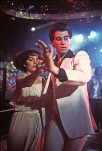 """Saturday Night Fever""Karen Lynn Gorney, John Travolta1977 Paramount Pictures** I.V. - Image 8131_0022"
