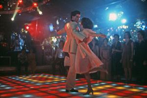"""Saturday Night Fever""John Travolta, Karen Lynn Gorney1977 Paramount Pictures** I.V. - Image 8131_0025"