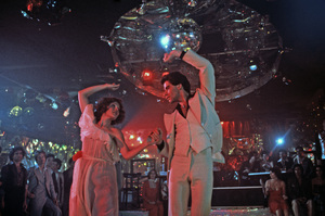 """Saturday Night Fever""Karen Lynn Gorney, John Travolta1977 Paramount Pictures** I.V. - Image 8131_0035"
