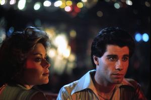 """Saturday Night Fever""Donna Pescow, John Travolta1977 Paramount Pictures** I.V. - Image 8131_0039"