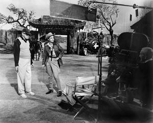 "Director John Ford, Anne Bancroft""7 Women""1966 MGM** I.V. - Image 8162_0005"