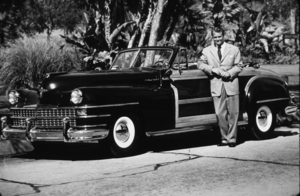 Red Skelton with his 1946 Chrysler Woody*M.W.* - Image 81_2002