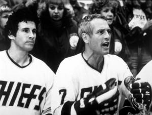 """""""Slap Shot,""""Michael Ontkean & Paul Newman © 1977 Universal - Image 8203_0003"""