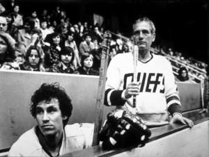 """""""Slap Shot,""""Michael Ontkean & Paul Newman © 1977 Universal - Image 8203_0005"""