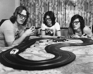 """Slap Shot""David Hanson, Steve Carlson, Jeff Carlson1977 Universal Pictures - Image 8203_0008"