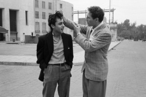 """""""Somebody Up There Likes Me""""Paul Newman, Sal Mineo1956© 1978 Sanford Roth / A.M.P.A.S. - Image 8216_0014"""
