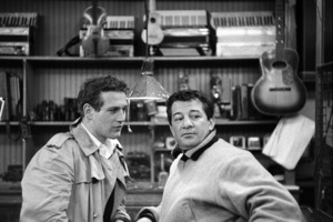 """""""Somebody Up There Likes Me""""Paul Newman, Rocky Graziano1956© 1978 Sanford Roth / A.M.P.A.S. - Image 8216_0052"""