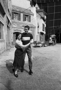 """Somebody Up There Likes Me""Paul Newman, Pier Angeli1956© 1978 Sanford Roth / A.M.P.A.S. - Image 8216_0067"