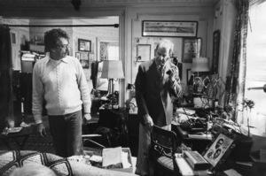 """The Sunshine Boys""Director Herbert Ross, Walter Matthau1975Photo by Mel Traxel - Image 8278_0009"
