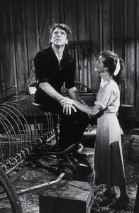 """""""The Rainmaker""""Katharine Hepburn and Burt Lancaster 1956 Paramount © 1978 Bill Avery - Image 8293_0001"""