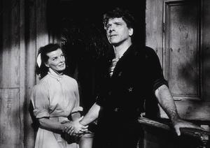 """""""The Rainmaker""""Katharine Hepburn and Burt Lancaster 1956 Paramount © 1978 Bill Avery - Image 8293_0005"""