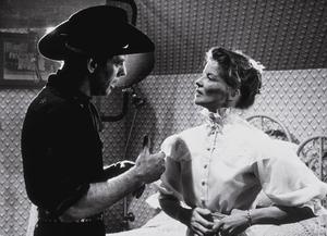 """""""The Rainmaker""""Katharine Hepburn and Burt Lancaster 1956 Paramount © 1978 Bill Avery - Image 8293_0006"""