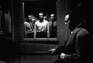 """""""Double Indemnity""""Fred MacMurray, Edward G. Robinson1944 Paramount / MPTV - Image 8294_0002"""