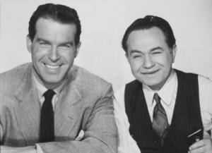 """Double Indemnity,""Fred MacMurray and Edward G. Robinson.1944 Paramount - Image 8294_0003"