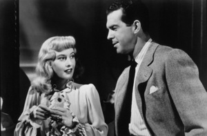 """""""Double Indemnity""""Barbara Stanwyck, Fred MacMurray1944 Paramount / MPTV - Image 8294_0010"""