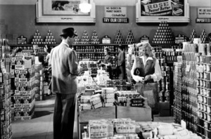 """""""Double Indemnity""""Fred MacMurray, Barbara Stanwyck1944 Paramount / MPTV - Image 8294_0011"""