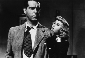 """""""Double Indemnity""""Fred MacMurray, Barbara Stanwyck1944 Paramount / MPTV - Image 8294_0015"""